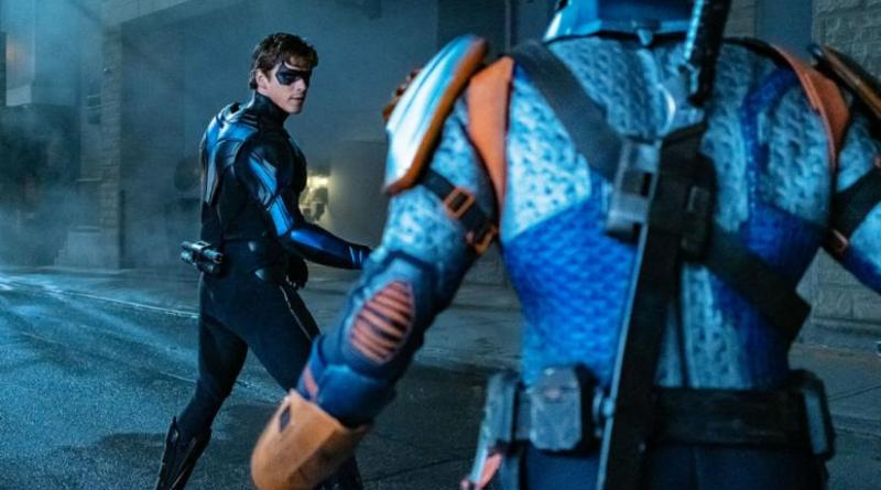 titans - nightwing review - nightwing vs deathstroke