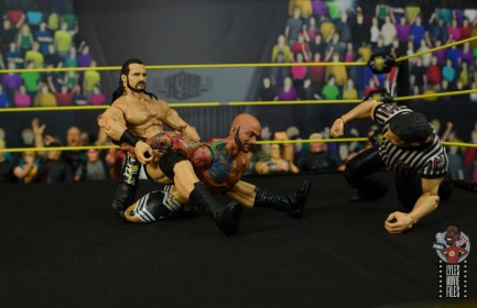 wwe elite 71 drew mcintyre figure review -stretching out ricochet