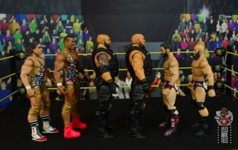 wwe elite authors of pain figure review - facing american alpha and diy