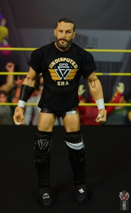 wwe elite undisputed era figure set review - bobby fish - shirt on front