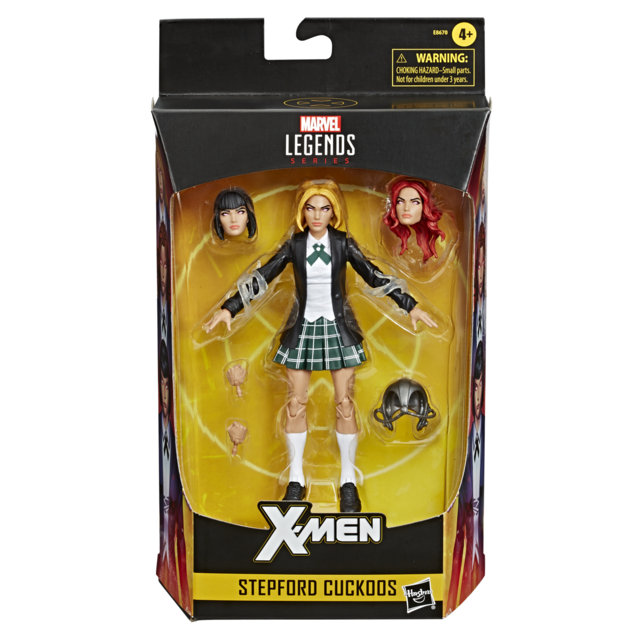 MARVEL X-MEN LEGENDS SERIES 6-INCH STEPFORD CUCKOOS Figure in pck
