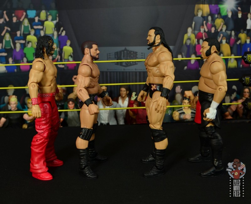 WWE Entrance Greats Bobby Roode figure review - facing nakamura, drew mcintyre and samoa joe
