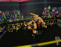 WWE Entrance Greats Bobby Roode figure review - spinbuster to mcintyre