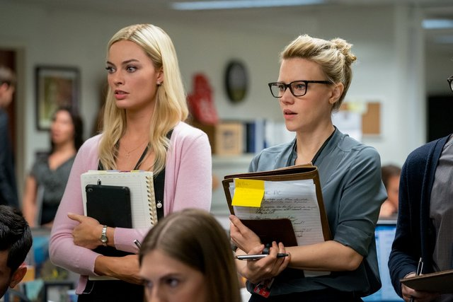 bombshell review - margot robbie and kate mckinnon