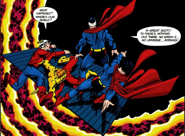 crisis on infinite earths #11 - the void