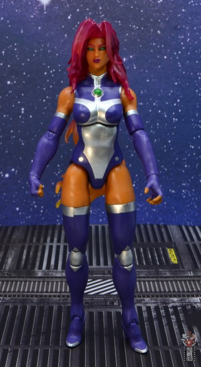 dc multiverse starfire figure review - front