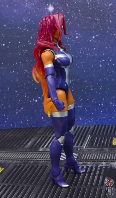 dc multiverse starfire figure review - right side