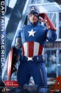 hot toys avengers endgame captain america 2012 figure - touching ear piece