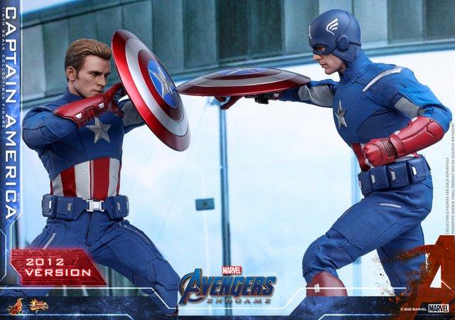 hot toys avengers endgame captain america 2012 figure -uniform details
