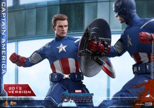 hot toys avengers endgame captain america 2012 figure -wide shot