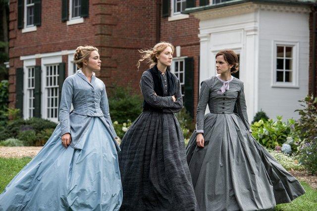 little women review -florence pugh, saoirse ronan and emma watson