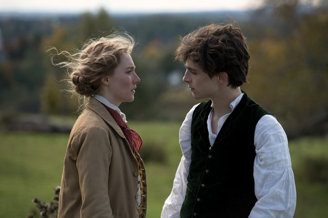 little women review -saoirse ronan and timothee chalamet
