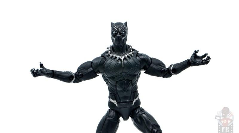 marvel legends black panther civil war 2019 figure review - wide shot
