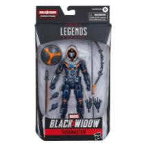 marvel legends black widow wave - taskmaster package
