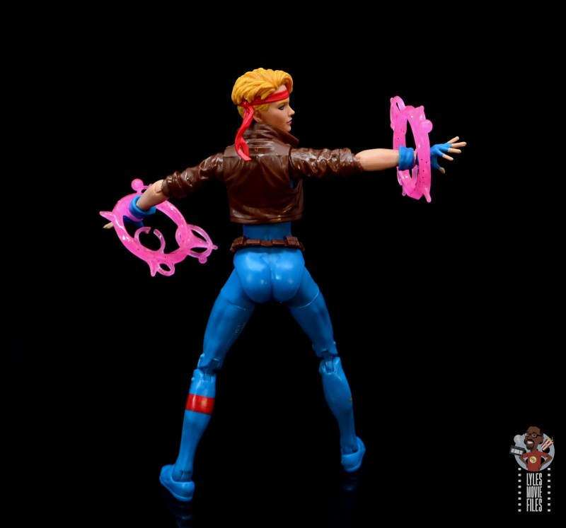 marvel legends dazzler figure review - blast from behind