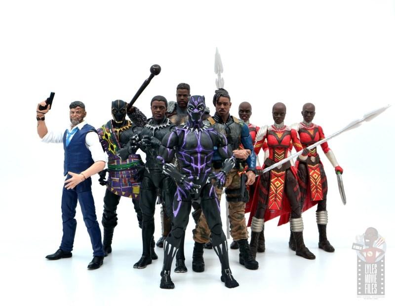 marvel legends m'baku figure review - full black panther wave 2