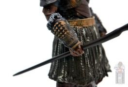 marvel legends m'baku figure review - gauntlet detail