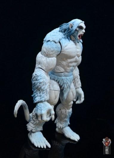 marvel legends wendigo figure review - right side