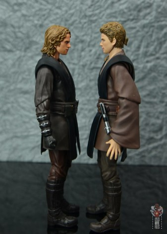 sh figuarts anakin skywalker revenge of the sith figure review - facing sh figuarts attack of the clones anakin