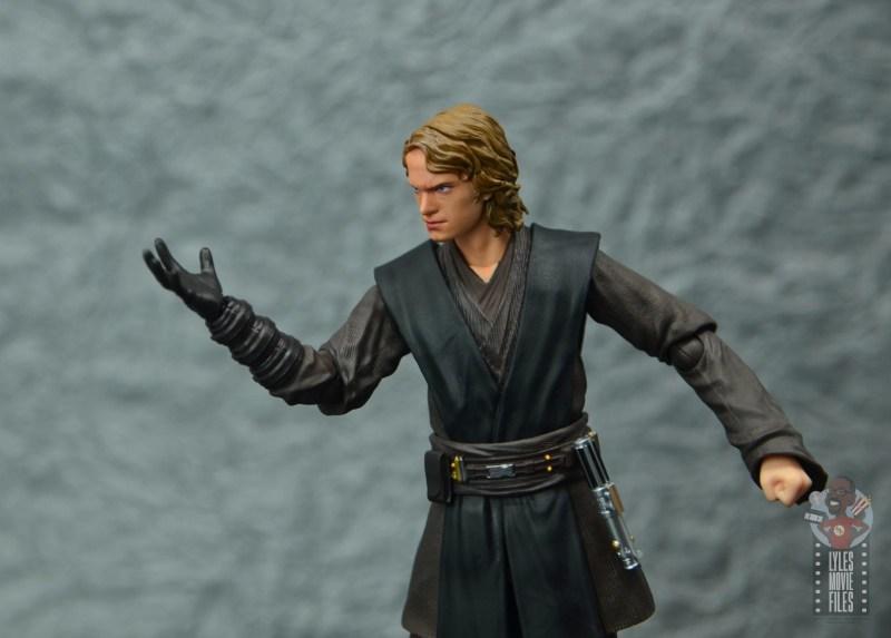 sh figuarts anakin skywalker revenge of the sith figure review - force choke