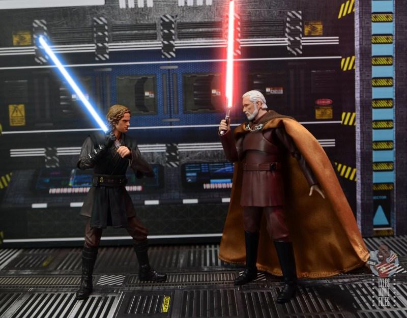 sh figuarts anakin skywalker revenge of the sith figure review -vs. count dooku