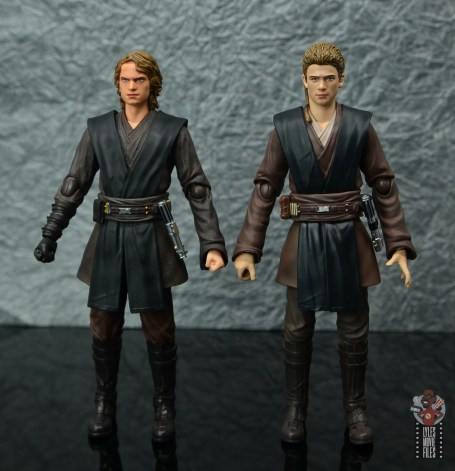 sh figuarts anakin skywalker revenge of the sith figure review -with attack of the clones anakin