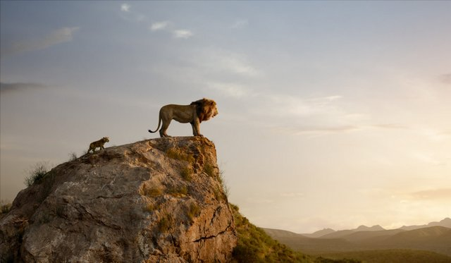 the lion king 2019 review - simba and mufasa