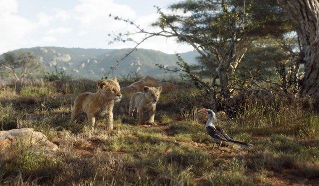 the lion king 2019 review - simba, nala and zazu