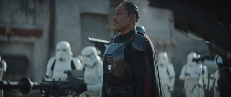 the mandalorian redemption review -moff gideon