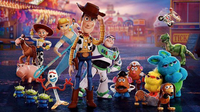 toy story 4 review - main cast