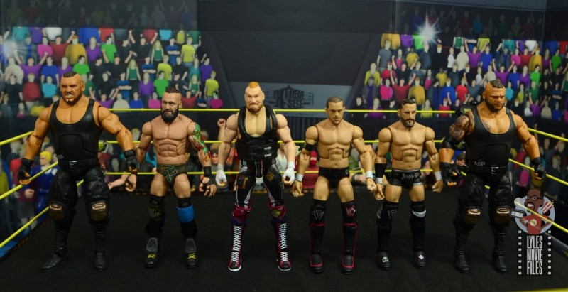 wwe alexander wolfe figure review - scale with authors of pain and undisputed era
