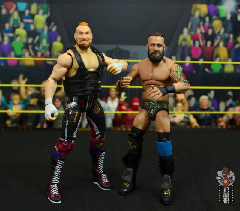 wwe alexander wolfe figure review - with eric young