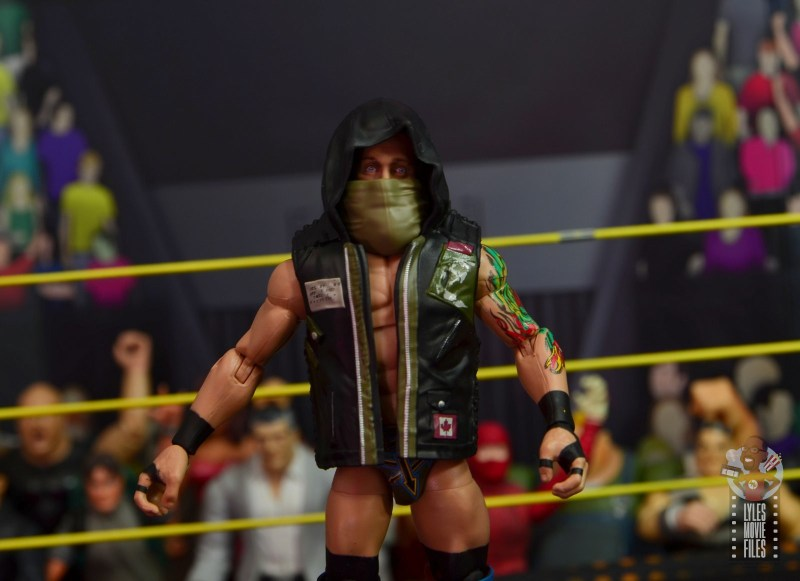 wwe elite 65 eric young figure review - entrance gear on