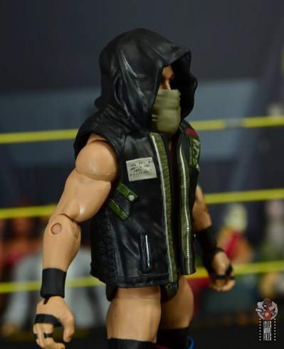 wwe elite 65 eric young figure review - vest right side