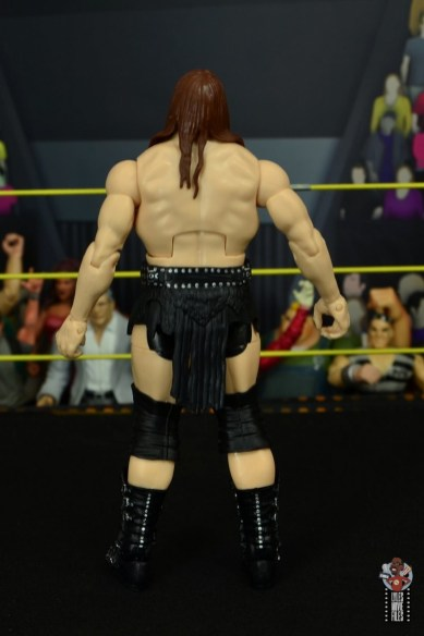 wwe elite killian dain figure review - rear