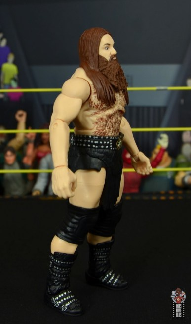 wwe elite killian dain figure review - right side
