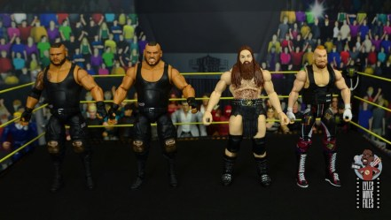 wwe elite killian dain figure review - scale with authors of pain and alexader wolfe