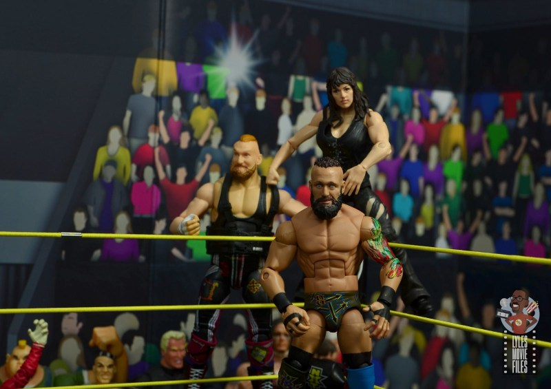 wwe elite nikki cross figure review - in the corner with alexander wolfe and eric young