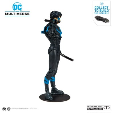 McFarlane toys dc multiverse - Nightwing right side