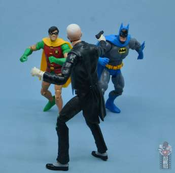 dc multiverse alfred figure review - aiming at batman and robin