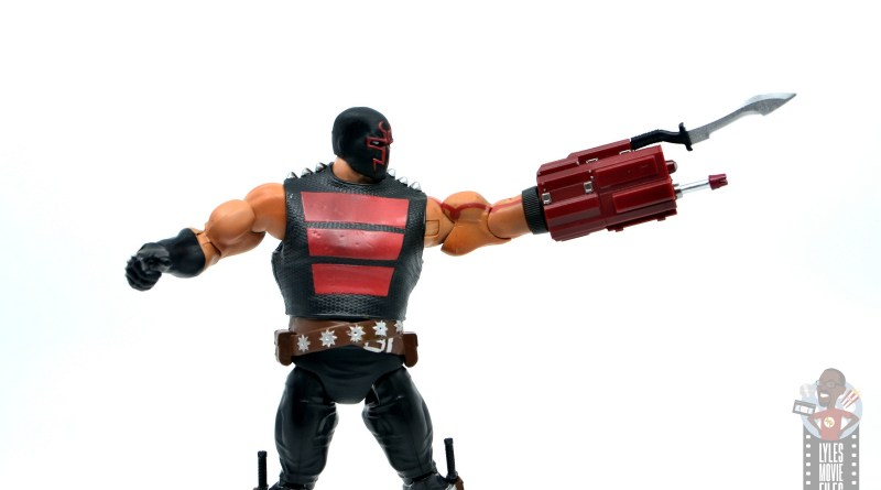 dc multiverse kgbeast figure review - armed up cannon
