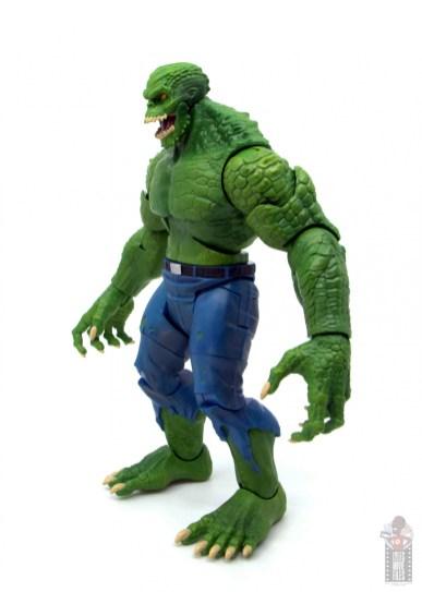 dc multiverse killer croc figure review - left side