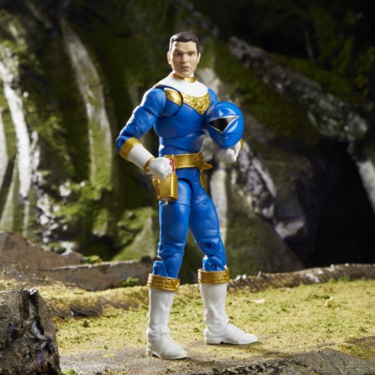 lightning collection zeo blue ranger - unmasked