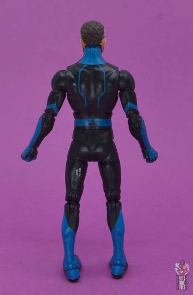 marvel legends mister fantastic figure review -rear