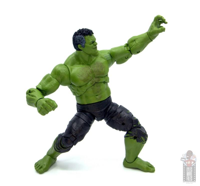 marvel legends smart hulk figure review - bracing for impact