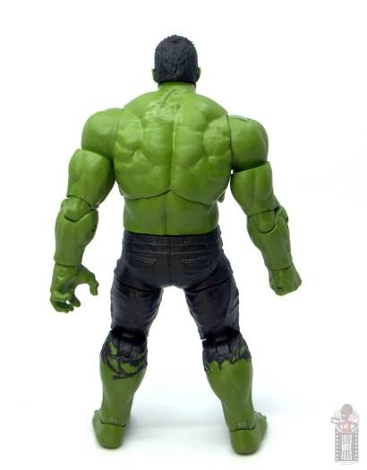marvel legends smart hulk figure review - rear