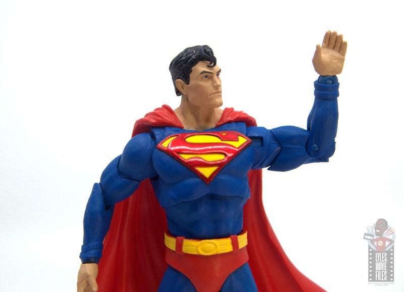 mcfarlane toys dc multiverse superman figure review - arm detailing