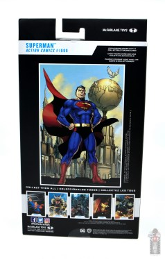 mcfarlane toys dc multiverse superman figure review - package rear