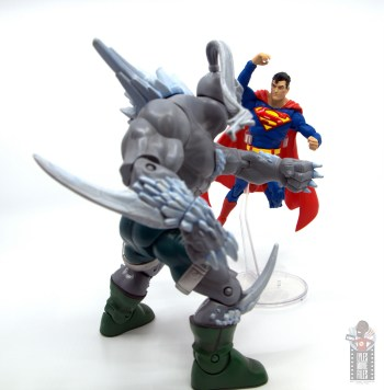 mcfarlane toys dc multiverse superman figure review - ready for battle against doomsday