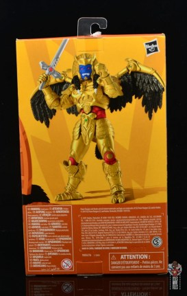 power rangers lightning collection goldar figure review - package rear